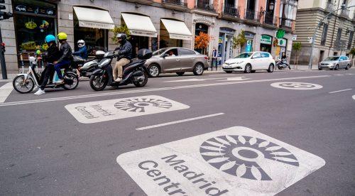 Los vehículos que ya no podrán entrar en el centro de Madrid