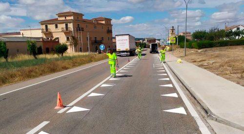 """Qué son los """"dientes de dragón"""" de esta carretera de Burgos"""