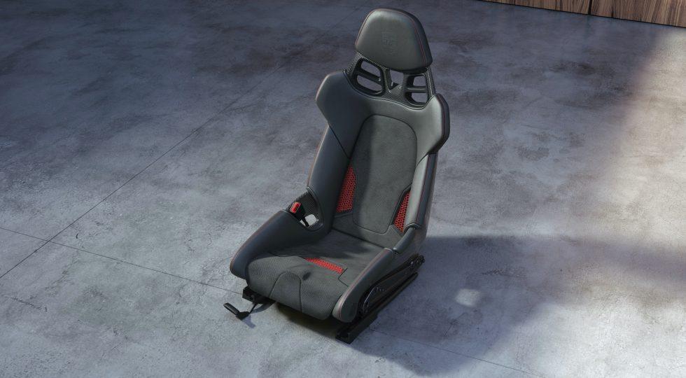 Asientos 3D Porsche