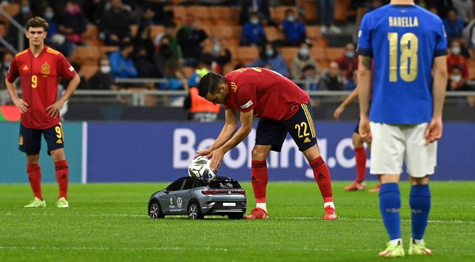 Tiny Football Car