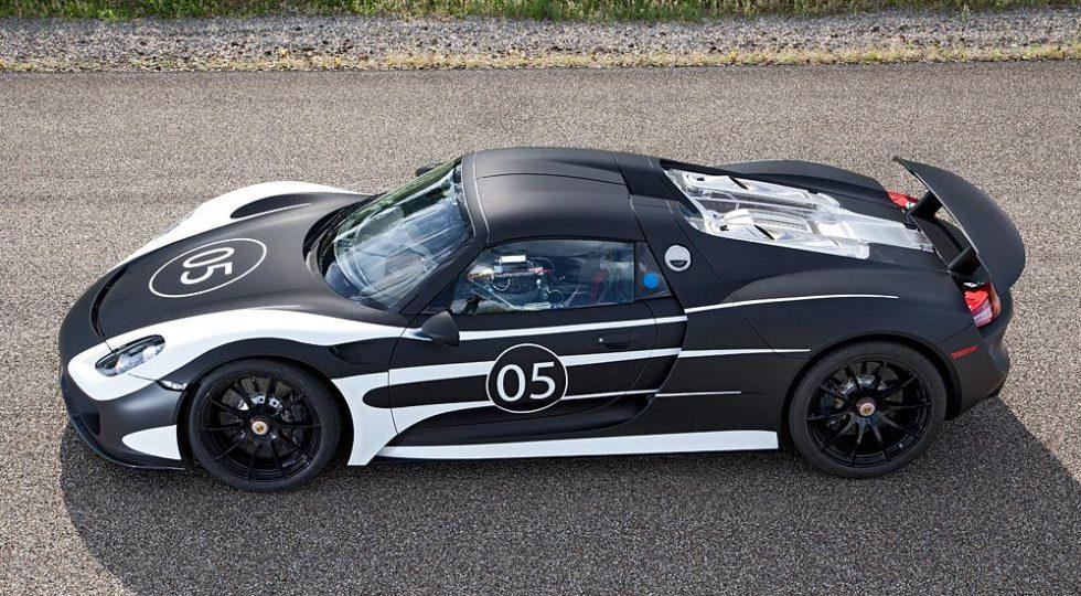 918 Spyder, el superdeportivo híbrido de Porsche