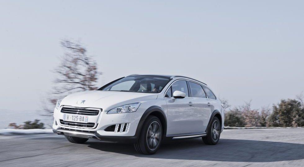 508 RXH, el nuevo híbrido diésel de Peugeot
