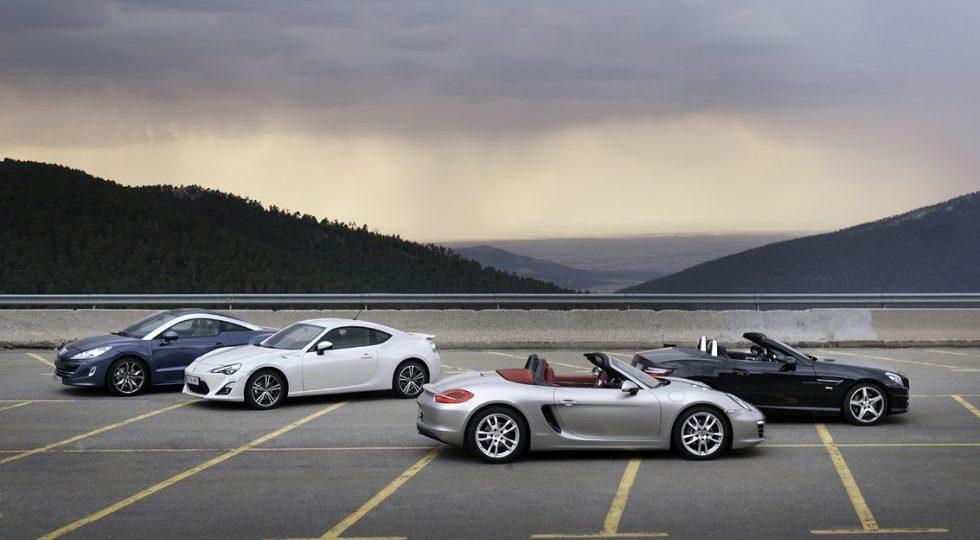 El Peugeot y el Porsche son superiores
