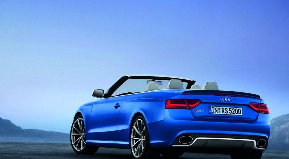 Audi lanza el deportivo descapotable RS 5