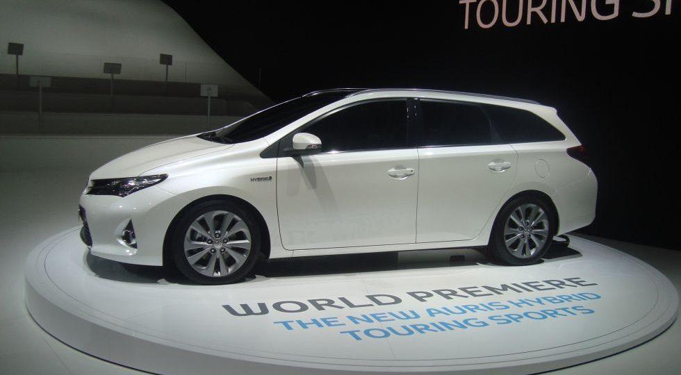 Auris: el emblema de Toyota