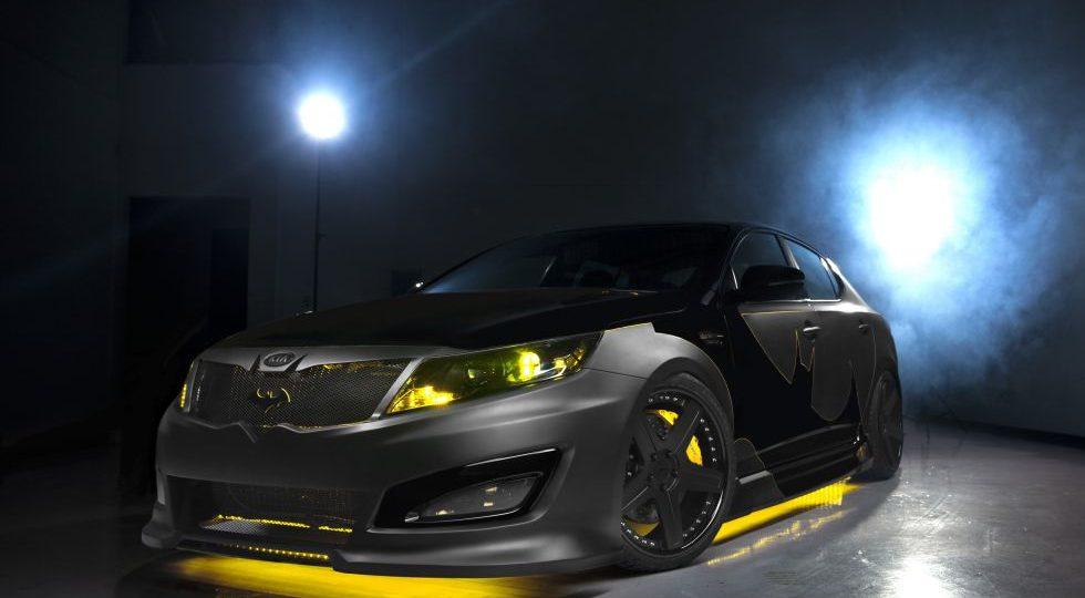 Batman conduce un Kia