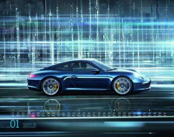 Nuevo calendario de Porsche