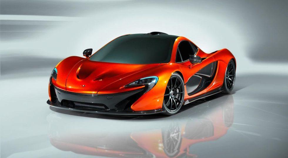 McLaren P1, el superdeportivo estrella de París