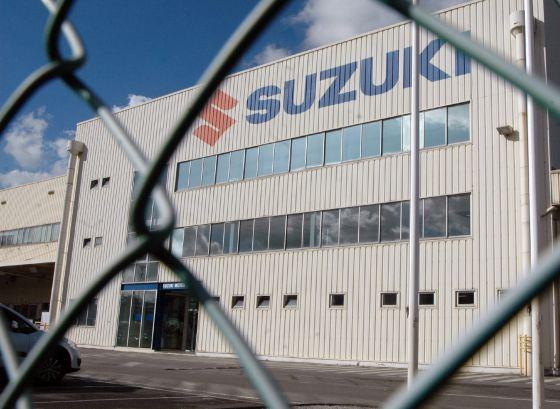 Suzuki cierra su fábrica de Gijón