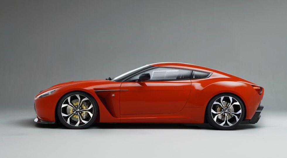 Un salvaje llamado Aston V12 Zagato