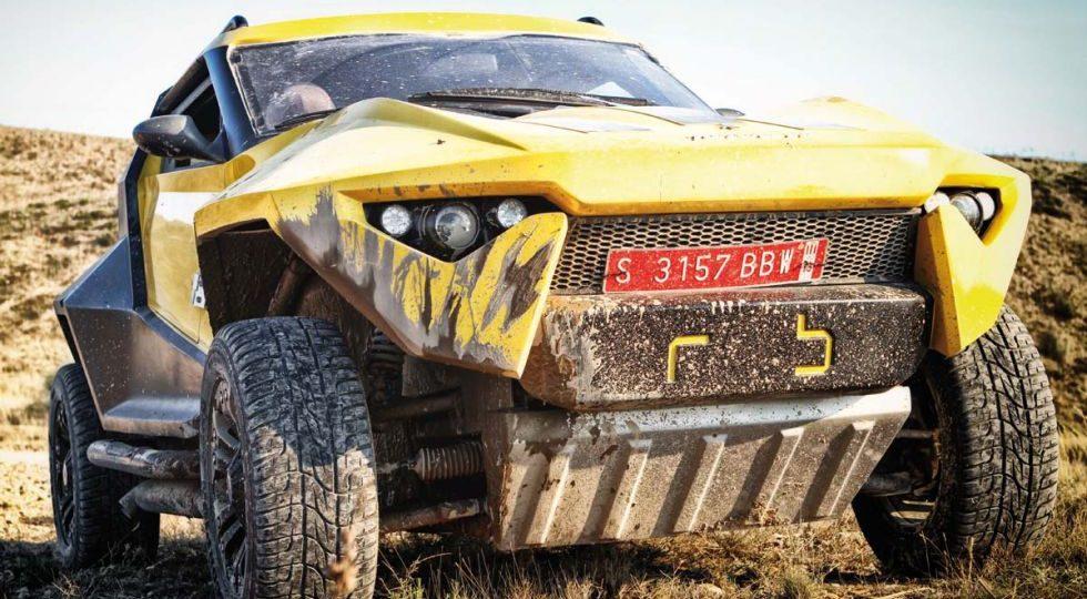 Fornasari Racing Buggy, 'armamento pesado'
