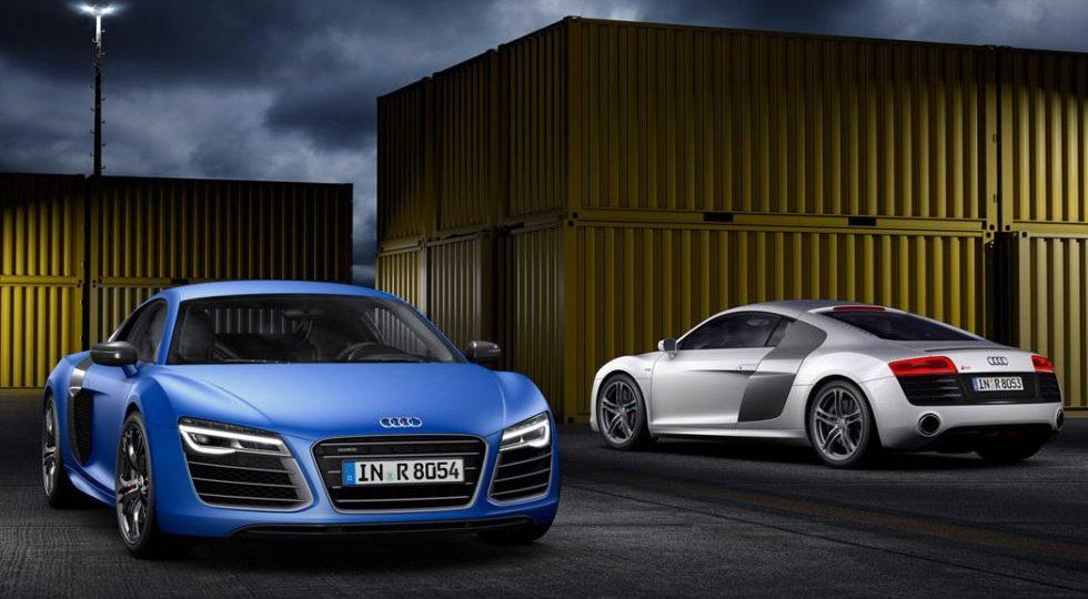 El Audi R8 cambia de marcha
