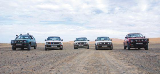 Veinte VW Golf, ocho días de aventura en Marruecos y más de 2.000 kilómetros