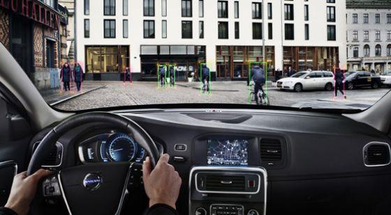 Volvo desarrolla un sistema para detectar a los ciclistas y frenar en el acto