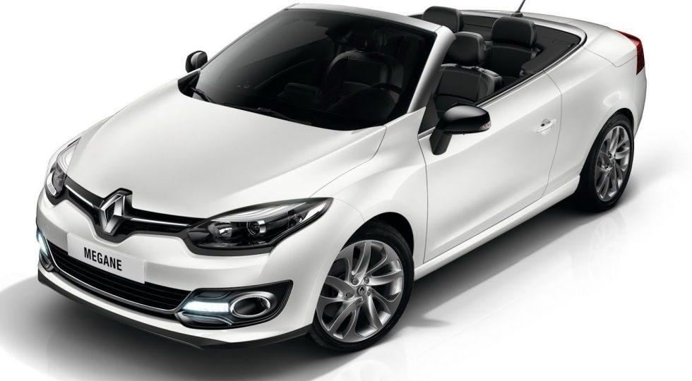 Renault actualiza el Mégane Coupé-Cabriolet en 2014