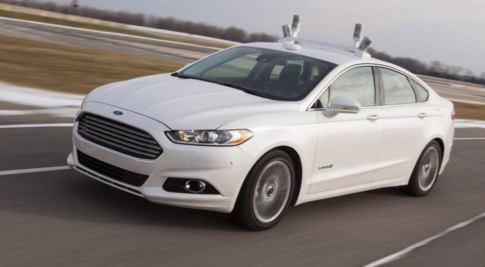 Ford Fusion Hybrid, autónomo