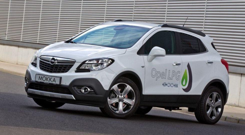 El Opel Mokka se pasa al GLP