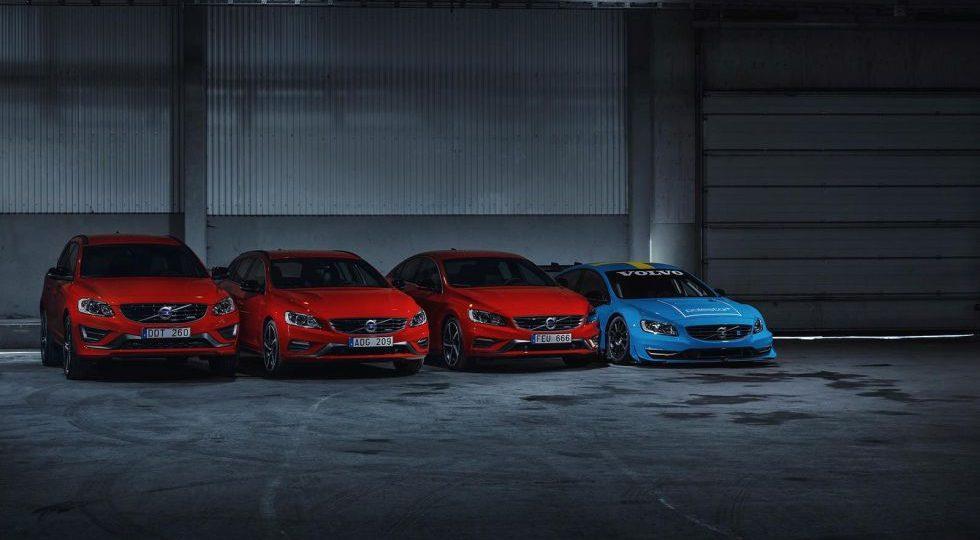 Volvo presenta los S60, V60 y XC60 Black R Edition