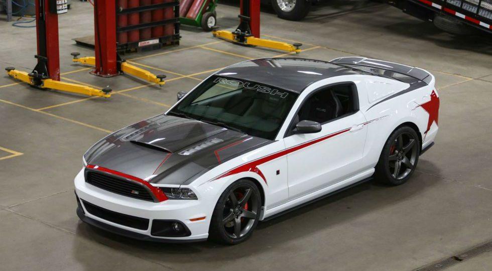 ROUSH prepara el Mustang 2014