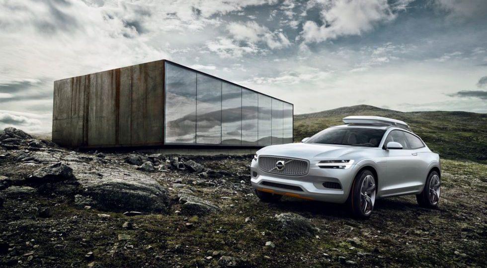 Volvo muestra el XC Coupe
