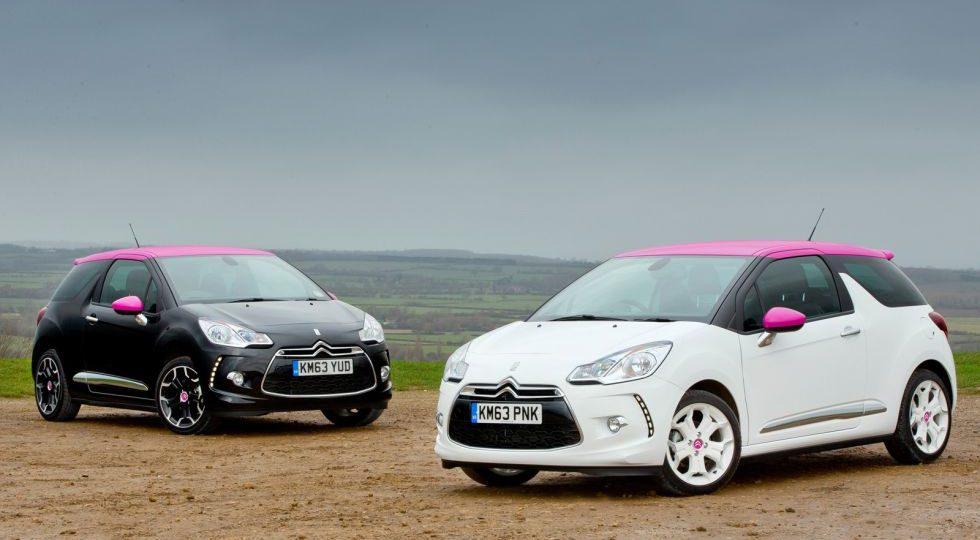 Nuevos Citroën DS3 DStyle Pink y DSport Pink para Reino Unido