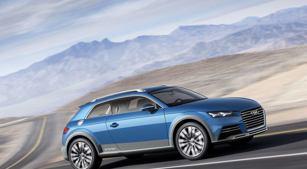 Audi Allroad Shooting Brake, entre el TT y el Q2