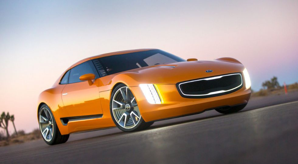 Kia luce su GT4 Concept