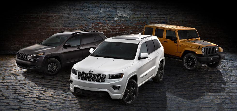 Serie limitada 'Altitude' para tres modelos de la gama Jeep