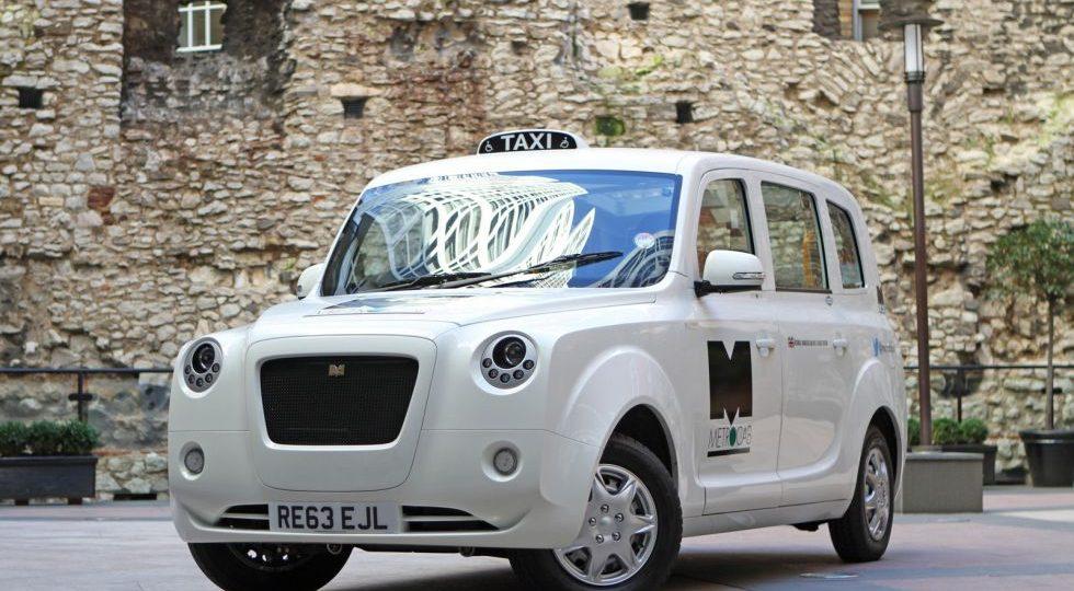 Metrocab, la alternativa eléctrica al taxi londinense