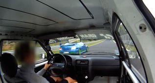 Menos 10 minutos para recorrer Nürburgring ¡en un AX de 52 CV!