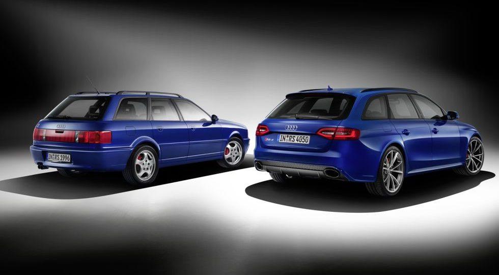 RS4 Avant Nogaro, tributo al Audi 80 Avant RS2