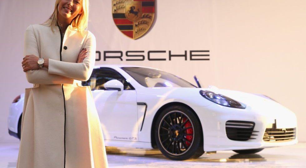 María Sharapova presenta su Porsche Panamera GTS