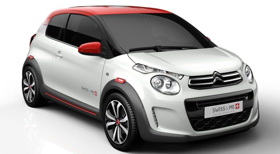 C1 Swiss&Me, todo el potencial del pequeñín de Citroën