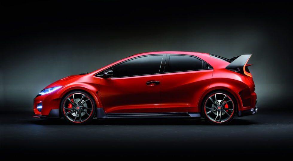 Honda exhibe la deportividad del Civic Type R Concept