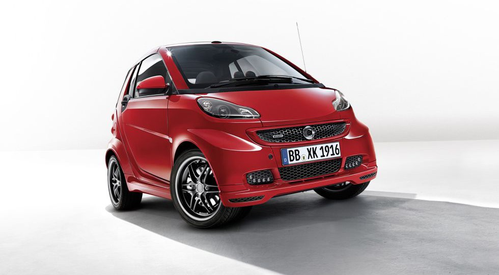 Brabus Xclusive Red Edition para el Smart ForTwo