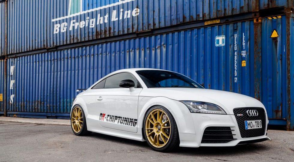OK-Chiptuning le da un extra de potencia el Audi TT RS Plus