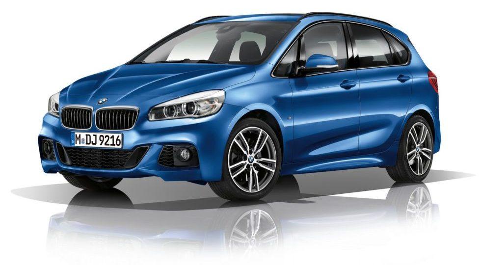 El BMW Serie 2 Active Tourer también tendrá Kit M