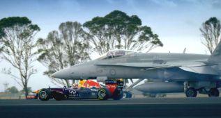Fórmula 1 contra F-18