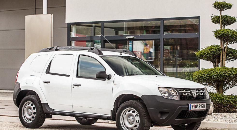 Dacia actualiza el Duster Van