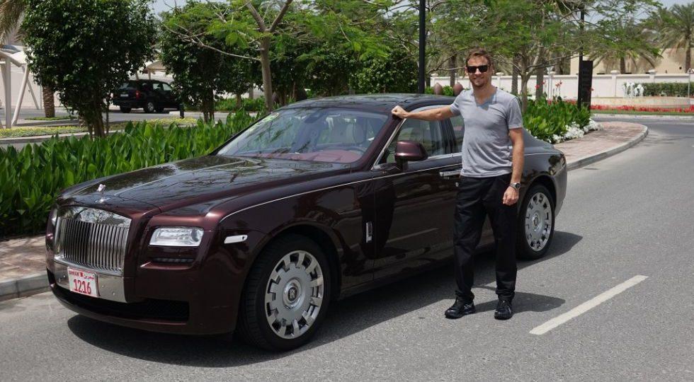Jenson Button irá en Rolls-Royce a los Grandes Premios