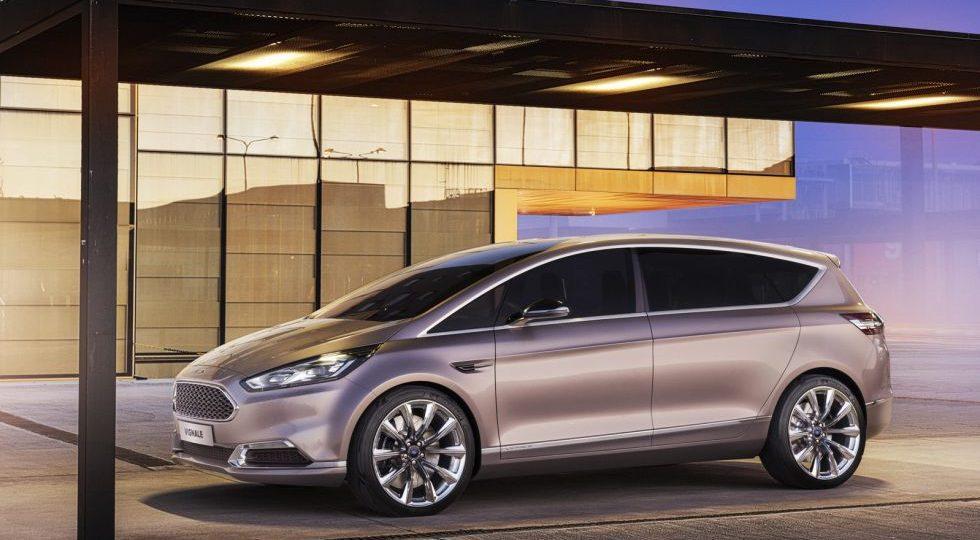 S-Max Vignale Concept, el nuevo premium de Ford