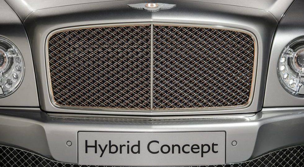 El Bentley más verde: Mulsanne Hybrid Concept