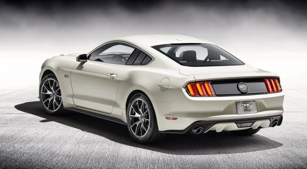 Ford lanza la edición especial Mustang 50 Aniversario