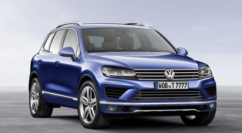 Volkswagen retoca ligeramente su todocamino Touareg