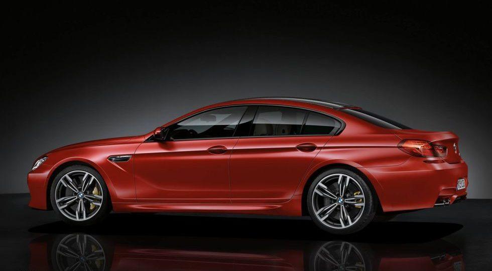 BMW Individual le da su toque personalizado al M6 Gran Coupé