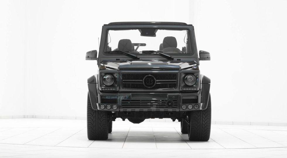 El G500 Cabrio visto por Brabus