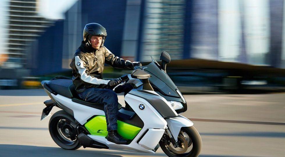 BMW C Evolution: «Silencio urbano y ecológico»