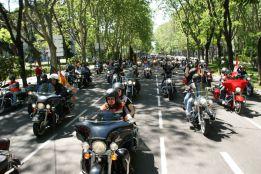 Madrid celebra su gran reunión de motos Harley-Davidson