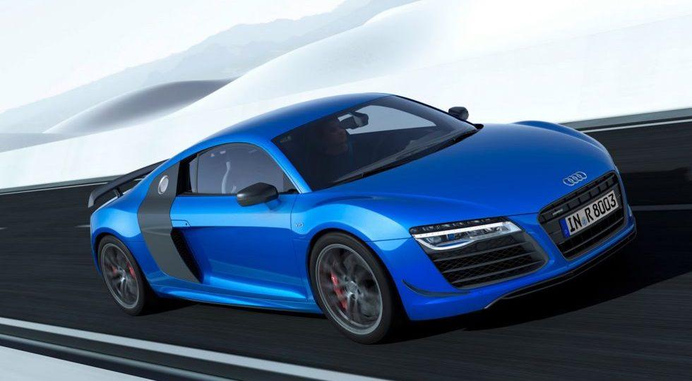 El Audi R8 recibe la edición especial LMX con faros láser