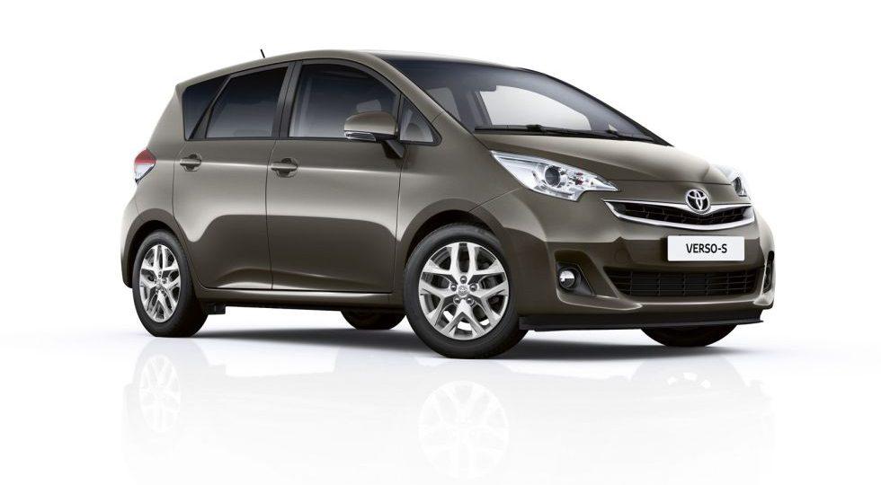 Toyota actualiza el Verso-S